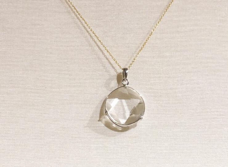 1309-水晶ペンダント